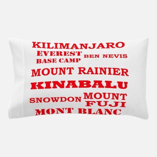 Multi Mountains 2 Pillow Case