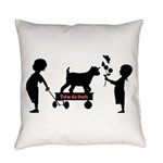 Totes MaGoats Kid Goat Everyday Pillow