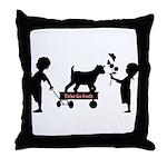 Totes MaGoats Kid Goat Throw Pillow