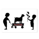 Totes MaGoats Nubian Goat Postcards (Package of 8)