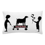 Totes MaGoats Nubian Goat Pillow Case