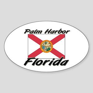 Palm Harbor Florida Oval Sticker