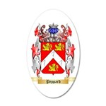 Peppard 35x21 Oval Wall Decal