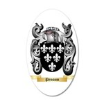 Pensom 35x21 Oval Wall Decal