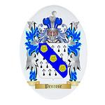 Penrose Oval Ornament