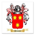Pennoni Square Car Magnet 3