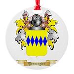 Pennington Round Ornament