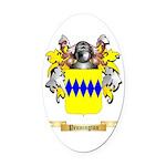 Pennington Oval Car Magnet