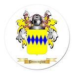 Pennington Round Car Magnet