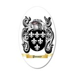 Penney 35x21 Oval Wall Decal