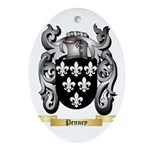 Penney Oval Ornament