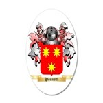 Pennetti 35x21 Oval Wall Decal