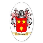 Pennetta Sticker (Oval 50 pk)