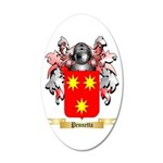 Pennetta 20x12 Oval Wall Decal