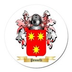 Pennelli Round Car Magnet