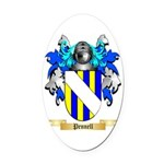 Pennell Oval Car Magnet