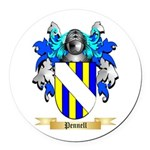 Pennell Round Car Magnet