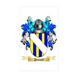 Pennell Sticker (Rectangle 50 pk)