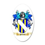 Pennell 20x12 Oval Wall Decal