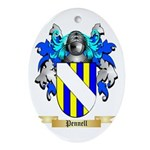 Pennell Oval Ornament
