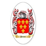 Penne Sticker (Oval 50 pk)