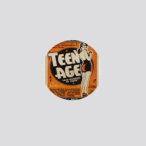 Vintage poster - Teen Age Mini Button