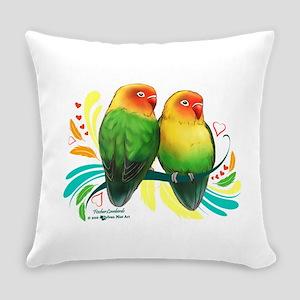 Fischer Lovebirds Everyday Pillow