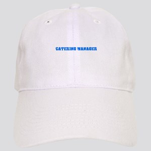 Catering Manager Blue Bold Design Cap