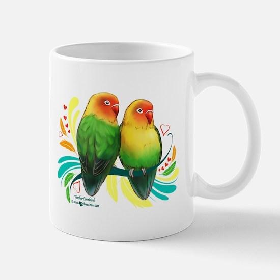 Fischer Lovebirds Mugs
