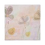 Soft flower design Queen Duvet