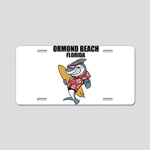 Ormond Beach, Florida Aluminum License Plate
