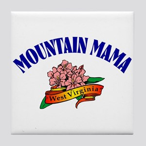 Mountain Mama Tile Coaster