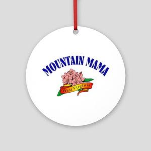 Mountain Mama Ornament (Round)
