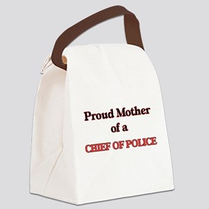 Proud Mother of a Chief Of Police Canvas Lunch Bag