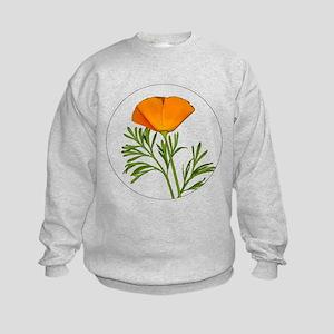 Golden Poppy Kids Sweatshirt