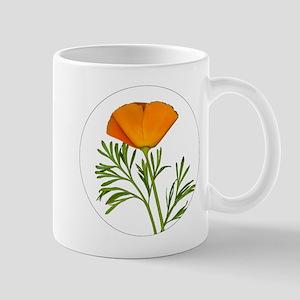 Golden Poppy Mugs