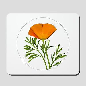 Golden Poppy Mousepad