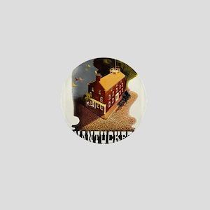 Vintage poster - Nantucket Mini Button