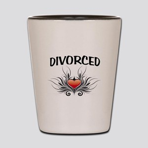 DIVORCED Shot Glass