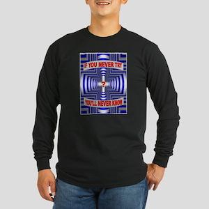 TRY AGAIN Long Sleeve T-Shirt