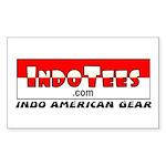 IndoTees.com Rectangle Sticker