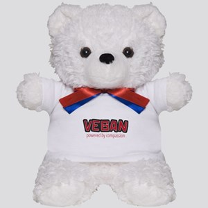 Vegan Powered by Compassion Teddy Bear