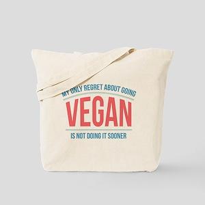 Vegan Regrets Tote Bag