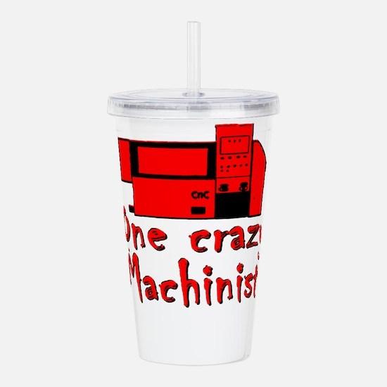 Funny Machinist Acrylic Double-wall Tumbler