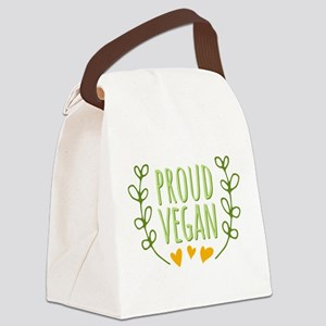 Proud Vegan Canvas Lunch Bag