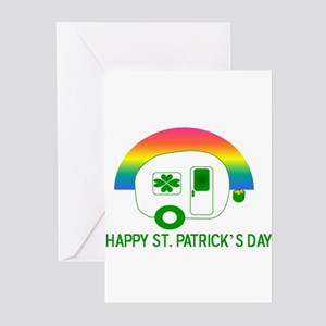 St. Patrick's Day RV Greeting Cards