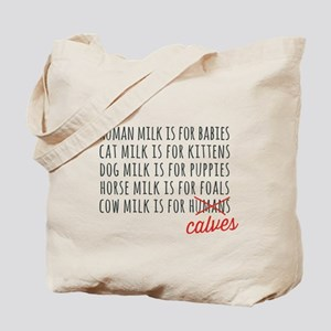 Human Milk is for Babies Tote Bag