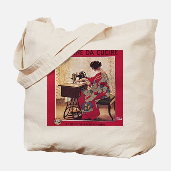 Funny Sewing machine Tote Bag