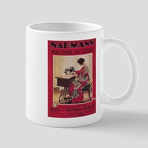 Vintage poster - Naumann Sewing Machine Mugs