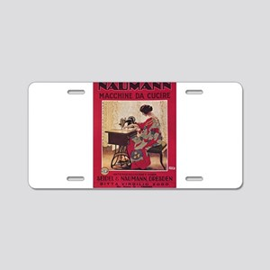 Vintage poster - Naumann Se Aluminum License Plate